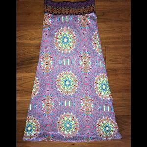 Kids boho Ella Moss skirt